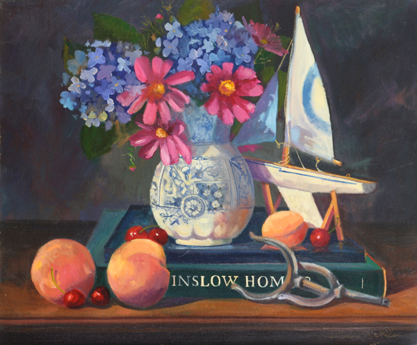 Still life painting by Cathryn Hatfield