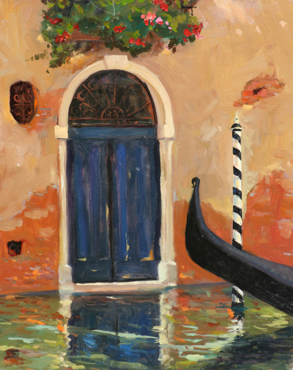 A Doorway in Venice